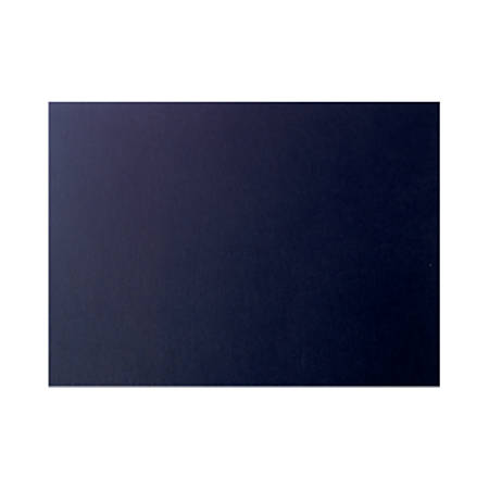"LUX Flat Cards, A9, 5 1/2"" x 8 1/2"", Black Satin, Pack Of 250"