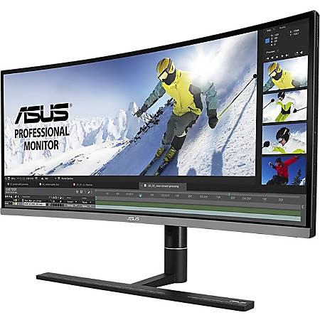 Asus ProArt PA34VC UW-QHD Curved Screen LED LCD Monitor - 21:9 - Black - 3440 x 1440 - 1.07 Billion Colors - Adaptive Sync - 300 Nit Typical - 100 µs GTG - HDMI - DisplayPort - USB Type-C