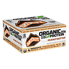 Skout Backcountry Peanut Butter Protein Bars