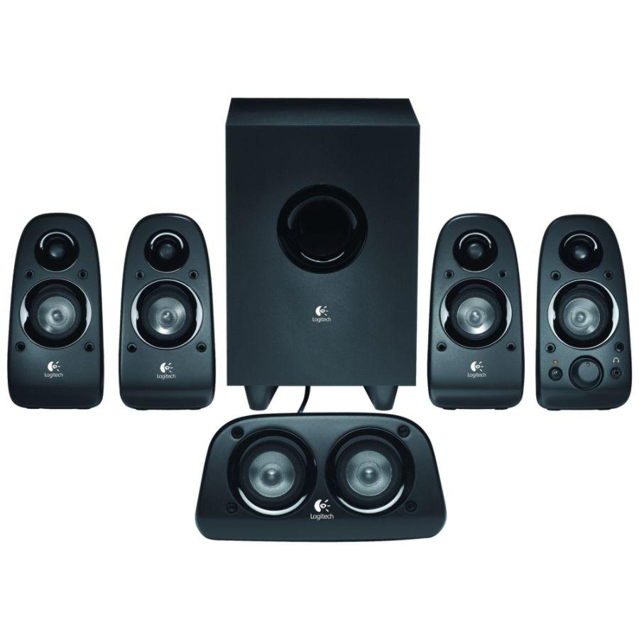 Logitech Z506 51 Speaker System 75 W RMS by Office Depot OfficeMax