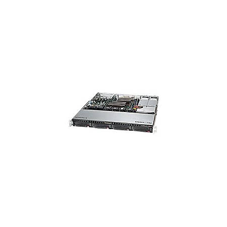 Supermicro SuperServer 6018R-MTR Barebone System - 1U Rack-mountable - Intel C612 Express Chipset - Socket LGA 2011-v3 - 2 x Processor Support - Black - 512 GB DDR4 SDRAM DDR4-2133/PC4-17000 Maximum RAM Support - Serial ATA/600 RAID Supported Controller