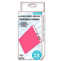 Wireless Gear 5000 mAh Power Bank