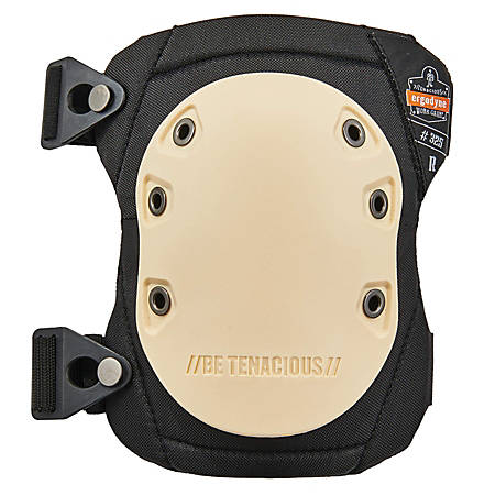 Ergodyne ProFlex Standard Knee Pads, With Buckle, Tan, 325