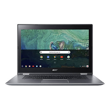 "Acer® Chromebook Spin 15 Laptop, 15.6"" Touch Screen, Intel® Pentium®, 4GB Memory, 64GB Flash Storage, Google™ Chrome OS"