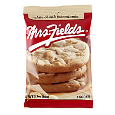 Mrs Fields White Chunk Macadamia Cookies