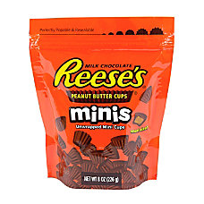 Reeses Peanut Butter Cup Minis 8