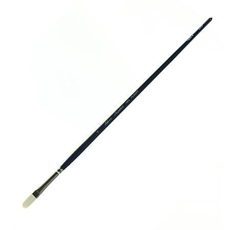 Silver Brush Bristlon Series Paint Brush, Size 4, Filbert Bristle, Synthetic, Multicolor