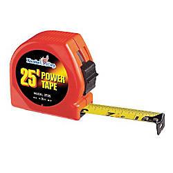1 X25 STEEL POWER TAPEORANGE CASE