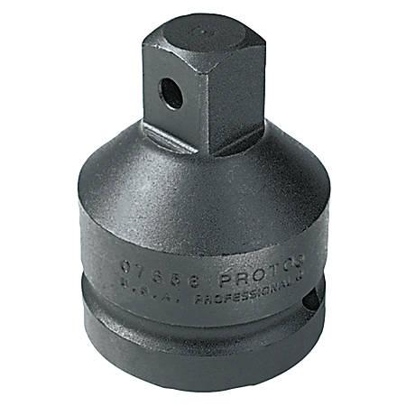 "PROTO Impact Socket Adapter, 1/2"" Female, 3/8"" Male"