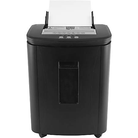 Royal Sovereign 120 Sheet Auto-Feed Cross-Cut Shredder (RAF-25P) - Cross Cut - 5 Per Pass - for shredding Paper - P-4 - 6.60 gal Wastebin Capacity