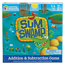 Learning Resources Sum Swap AdditionSubtraction Game