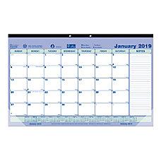 Brownline Monthly Desk Pad Calendar 17