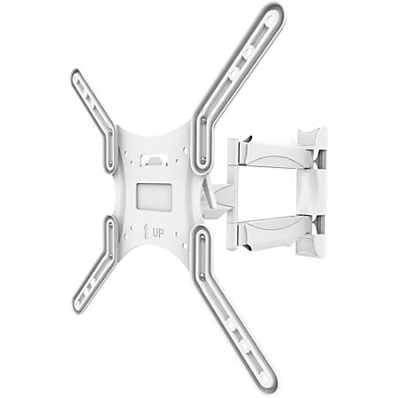 "Kanto M300W Wall Mount for Flat Panel Display - White - 1 Display(s) Supported55"" Screen Support - 80 lb Load Capacity"