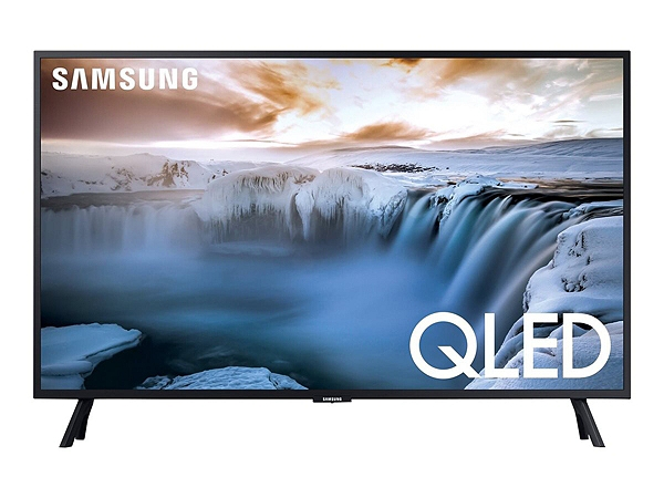 "Samsung QN32Q50RAF - 32"" Class Q50 Series QLED TV - Smart TV - 4K UHD (2160p) 3840 x 2160 - HDR - Quantum Dot, New Edge Backlight - charcoal black"