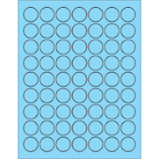 Office Depot Brand Labels LL191BE Circle