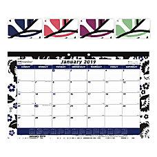 Brownline Monthly Desk Pad Calendar 10