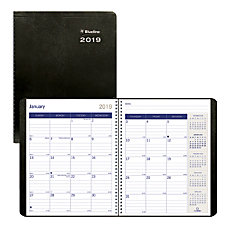 Blueline DuraGlobe 14 Month Monthly Planner