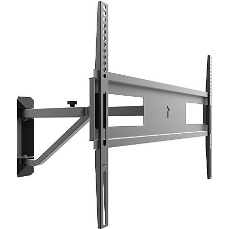 """Kanto FMC1 Mounting Arm for TV - Black - 1 Display(s) Supported60"""" Screen Support - 88 lb Load Capacity - 100 x 100, 600 x 400 VESA Standard"""