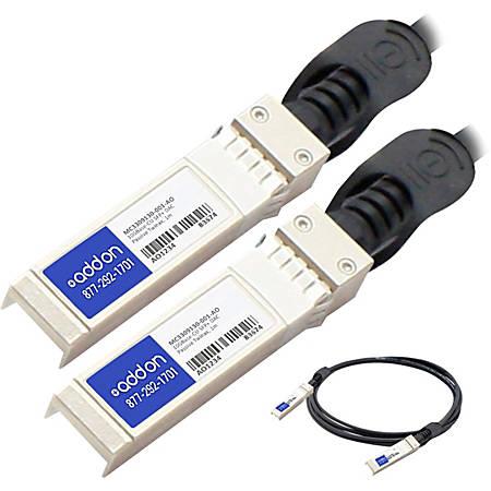 AddOn Mellanox MC3309130-001 Compatible TAA Compliant 10GBase-CU SFP+ to SFP+ Direct Attach Cable (Passive Twinax, 1m)