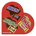 Mars Snickers, Twix And Milky Way Minis Valentine's Day Variety Mix Candy Heart Box, 6.84 Oz