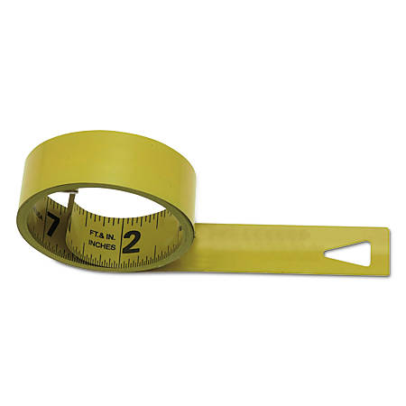 Mezurall® Measuring Tapes, 1/2 in x 12 ft, Black