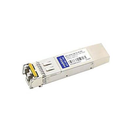 AddOn MSA and TAA Compliant 10GBase-CWDM SFP+ Transceiver (SMF, 1330nm, 40km, LC, DOM)