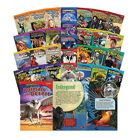 Teacher Created Materials TIME FOR KIDS® Nonfiction Book Set, Set Of 30 Books, Grade 5