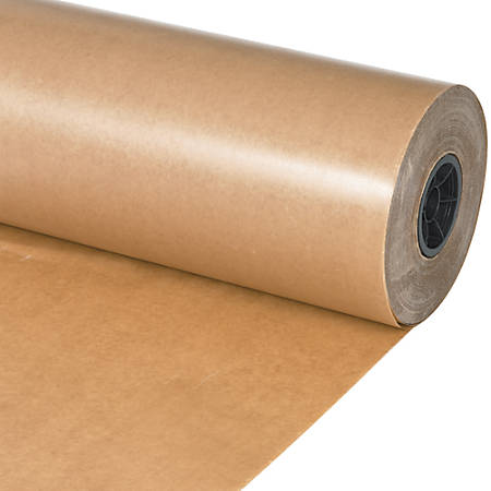 "Office Depot® Brand Waxed Paper Roll, 48"" x 1,500', Kraft"