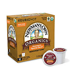 Newmans Own Pods Organics Special Blend