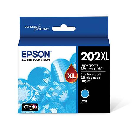 Epson® T202XL220-S High-Yield Cyan Ink Cartridge