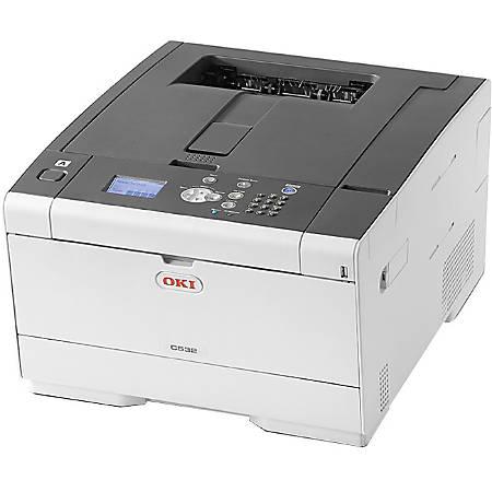 OKI® C532dn LED Color Printer