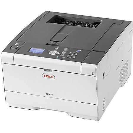 Oki C532dn LED Printer - Color