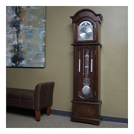 FirsTime & Co.® Grandfather Clock, Espresso