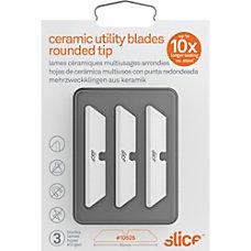 Slice Rounded Tip Ceramic Utility Blades