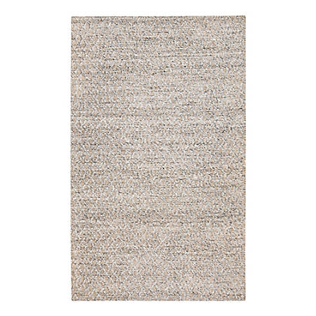 Anji Mountain Sigis Soft Jute And Wool-Alternative Rug, 8' x 10', Gray