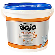 GOJO Fast Textured Wet Shop Towels