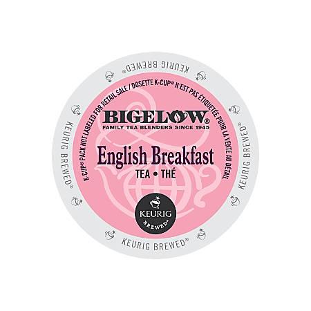 Bigelow English Breakfast Tea K-Cups®, Box Of 24
