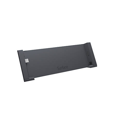 Microsoft® PD9-00003 Docking Station For Surface Pro 4 And Surface Book, Black