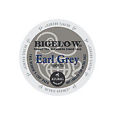 Bigelow Earl Grey Tea K Cup