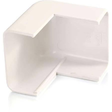 C2G Wiremold Uniduct 2900 External Elbow - Fog White - Fog White - Polyvinyl Chloride (PVC)