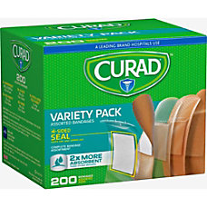 Curad Variety Pack 4 sided Seal