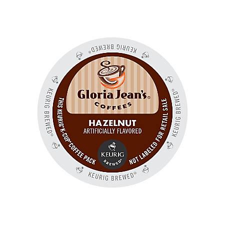 Gloria Jean's Coffees Hazelnut Coffee K-Cup® Pods, Box Of 24 Pods