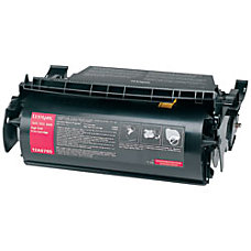Lexmark 12A9684 Black Toner Cartridge