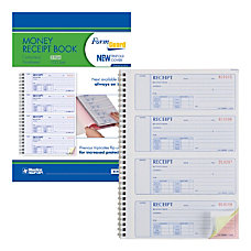 Rediform Prestige Money Receipt Book 3