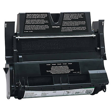 Lexmark™ 12A5361 Black Toner Cartridge