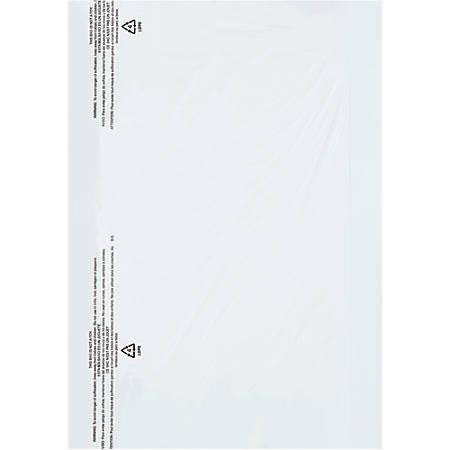 "Office Depot® Brand Garment Bags, 21""H x 4""W x 30""D, Clear, Roll Of 650"