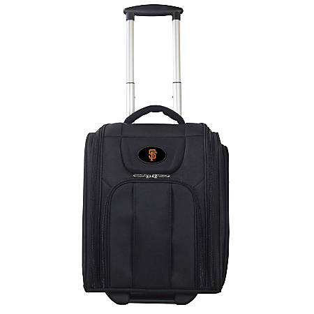 "Denco Sports Luggage Expandable Briefcase With 13"" Laptop Pocket, San Francisco Giants, Black"
