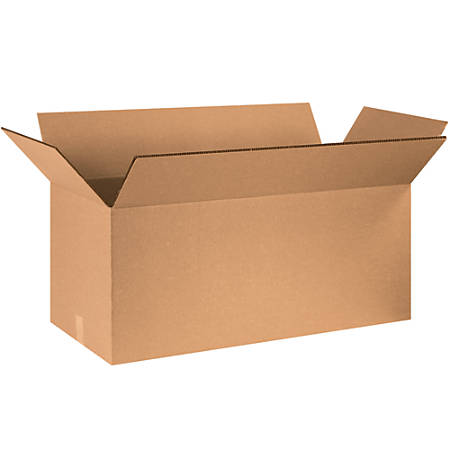 "Office Depot® Brand Double-Wall Heavy-Duty Corrugated Cartons, 40"" x 20"" x 20"", Kraft, Box Of 5"