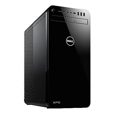 Dell™ XPS 8930 Desktop PC, Intel® Core™ i7, 8GB Memory, 1TB Hard Drive, Windows® 10 Professional