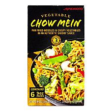 Ajinomoto Vegetable Chow Mein 9 Oz